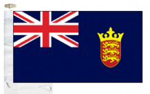 Channel Islands Jersey State Blue Ensign Courtesy Boat Flags (Roped and Toggled)